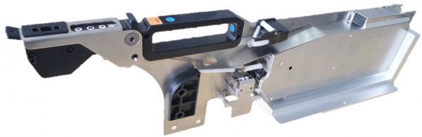 Elektrinis maitintuvas - komponentų priėmimo iš juostos įrenginys