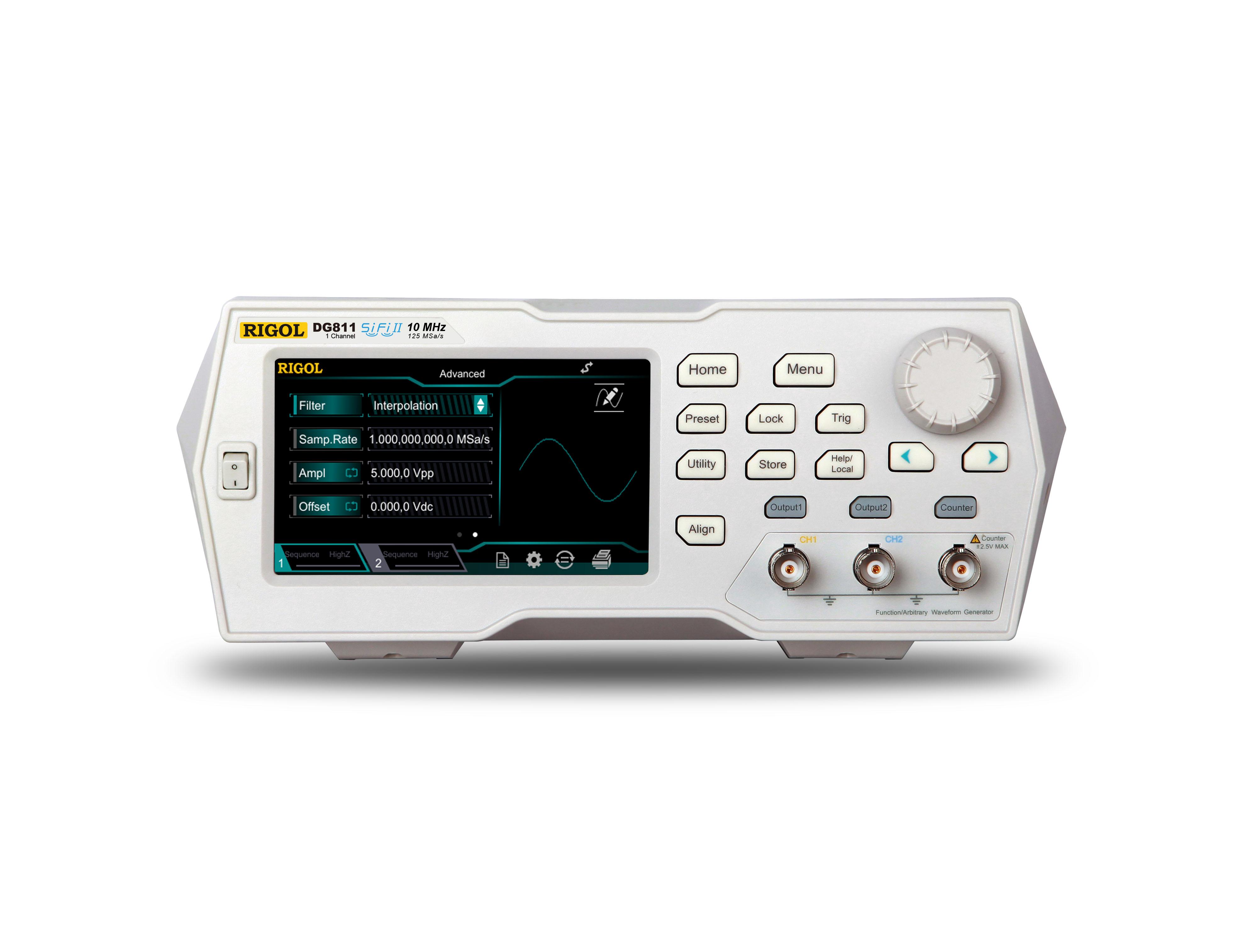 Lokmita 1 Channel 10mhz 16bit 125msa 2mpts Function Arbitrary Generators Waveform Generator