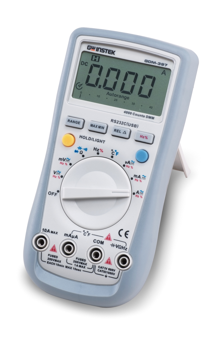 Electrical Measuring Devices : Lokmita digits hand held dmm with rs c interface