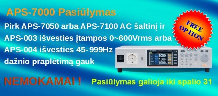 Slide Baneris APS-7000_free_option