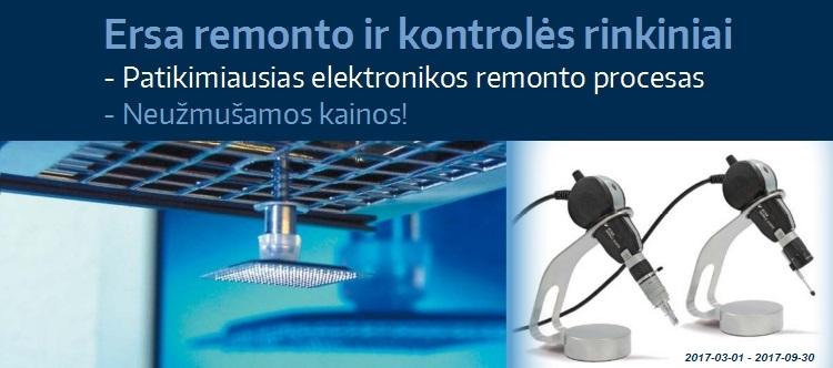 Slide Baneris Ersa Rework-Inspection kits