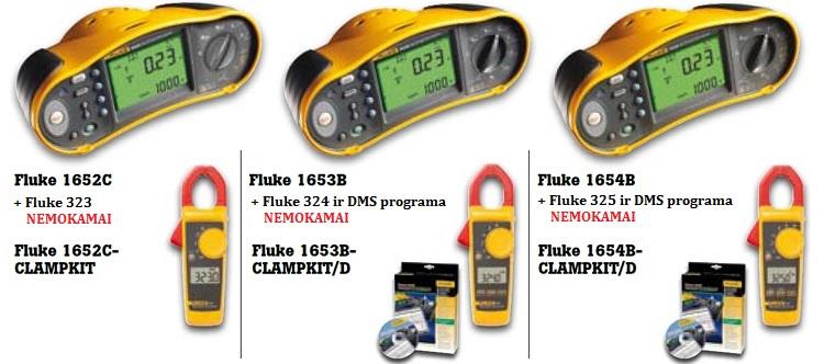 Slide Baneris Fluke1650 clampkit