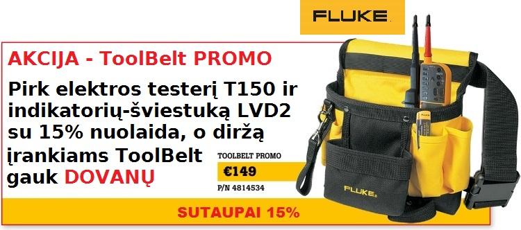 Slide Baneris Fluke ToolBelt PROMO