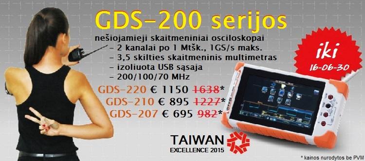 Slide Baneris gds-200 - 30 proc