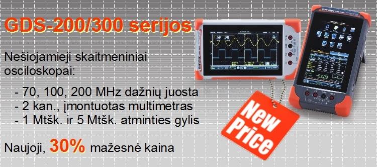 Slide Baneris GDS-200_300 30% mazesne kaina