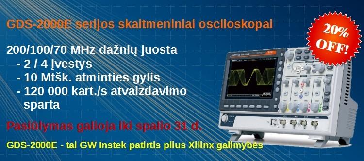 Slide Baneris GDS-2000E 20% off