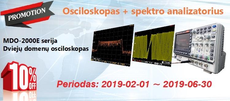 Slide baneris MDO-2000E -10proc