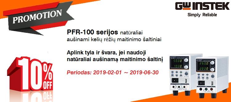 Slide baneris PFR-100 -10proc