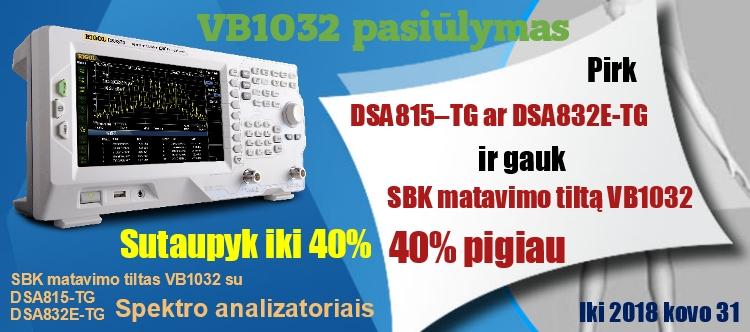 Slide baneris DSA800-VB1032